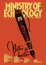 Ministry of Echology Notes & Quotes tour poster